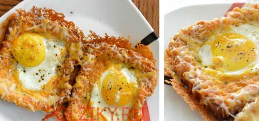 Как приготовить гренки с яйцом