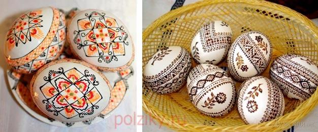 Расписать яйца своими руками