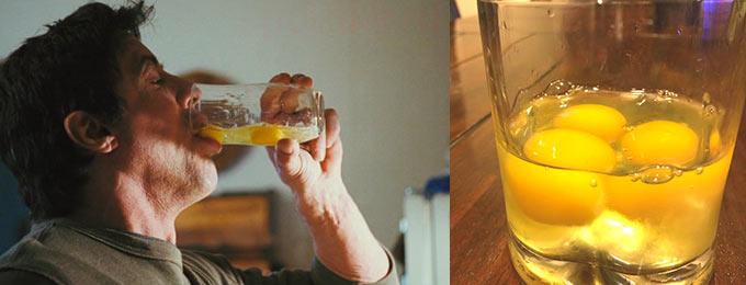 Сырые яйца для спортсменов, когда пить