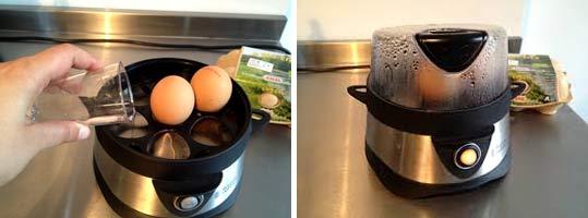 Каким образом варить яйца в яйцеварке