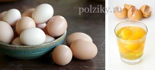 Пищевая ценность желтка яйца