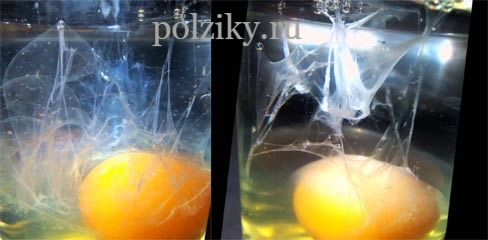 Воздействие на порчу яйцом