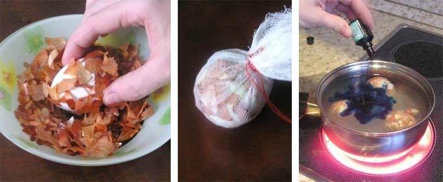 Яйца мраморные с зеленкой какой рецепт