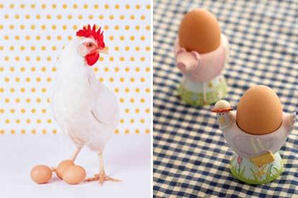 Витамины в яйцах