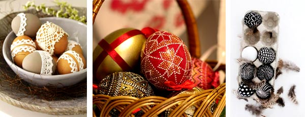 Традиция красить яйца на Пасху
