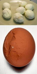 Почему плохо чистятся вареные яйца