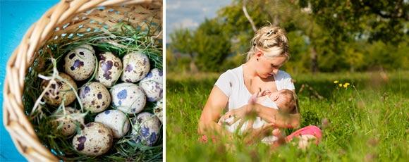 Перепелиные яйца при грудном вскармливани