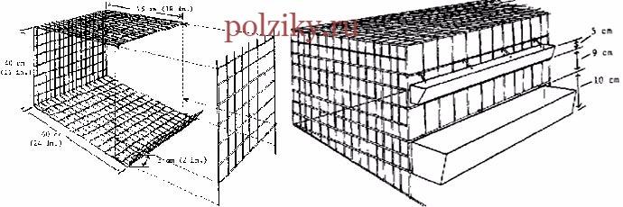 Клетки для бройлеров чертежи
