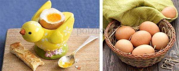 Куриные яйца. Витамины
