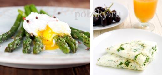 Как можно готовить яйца на диете