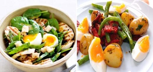 как приготовить яйца для салата