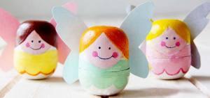яйца из киндер сюрприза поделки