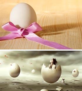 К чему снятся свежие яйца