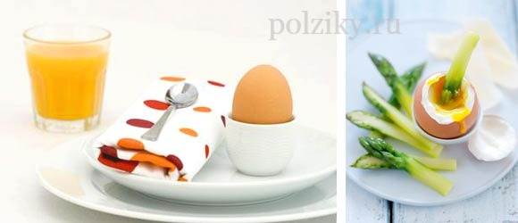 Похудение с помощью яиц