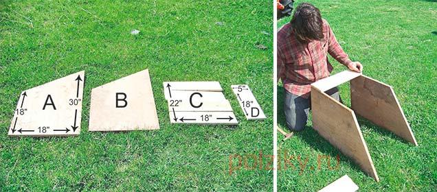 Инструкция как собрать гнездо для индюшки