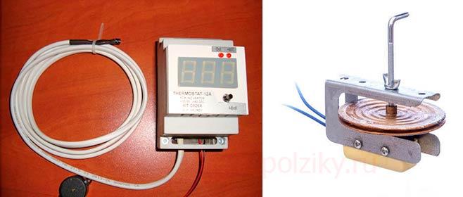 Принцип работы терморегулятора в инкубаторе
