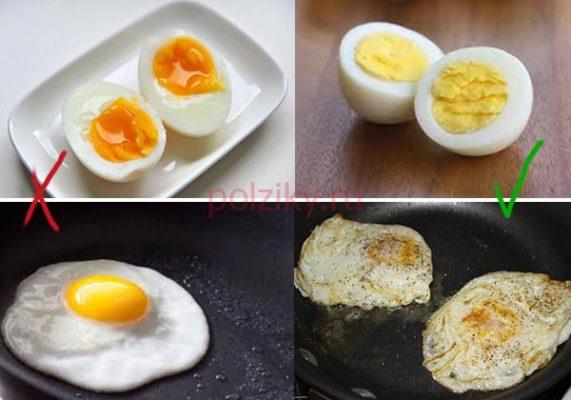 Как безопасно есть яйца
