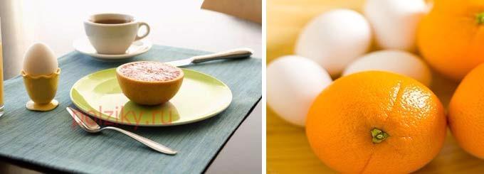 В каком виде употреблять яйца в разгрузочный день