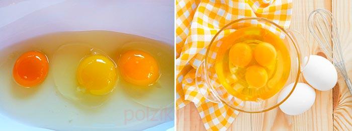 Какие факторы влияют на окрас желтка