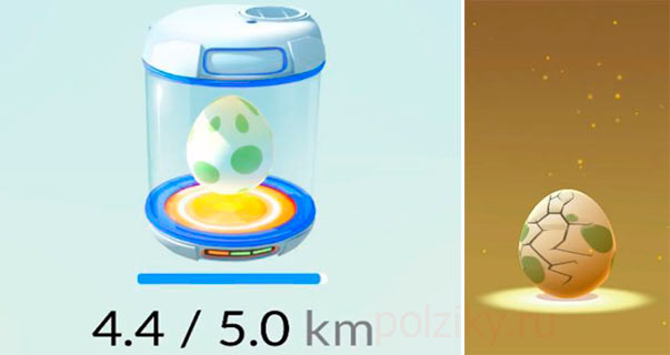 Как засунуть яйцо в инкубатор в Pokemon go