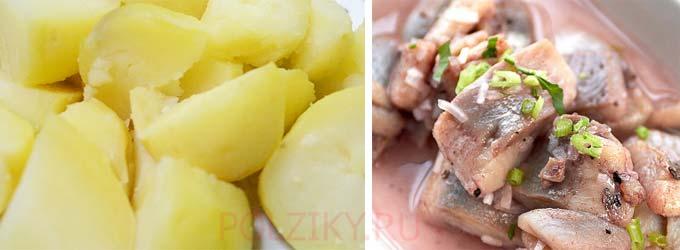Можно ли кормить куру рыбой и картофелем