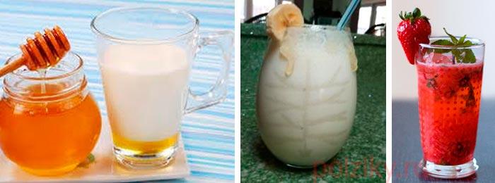 Напитки с перепелиными яйцами