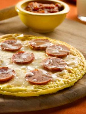 пицца из яиц