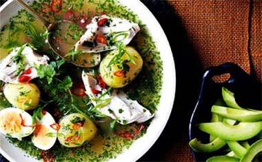 Перуанский куриный суп