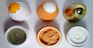 яйца тони моли