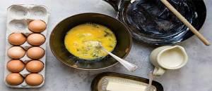 как сделать омлет из яиц