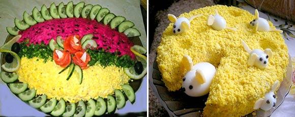 Мышки из яйца