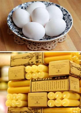 Мазь с воском и яйцом