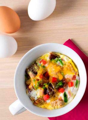 Завтрак из яиц для детей