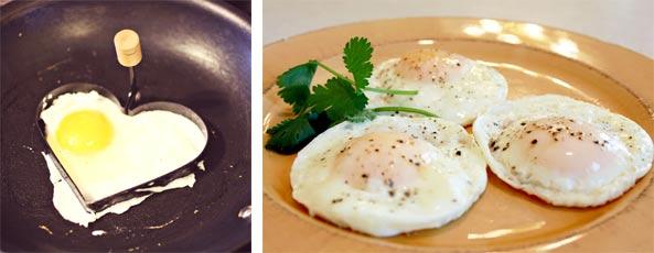 Польза жареных яиц