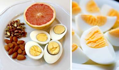 Польза от вареных яиц
