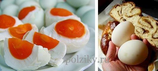 Польза утиных яиц