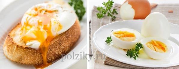 Вкусный завтрак из яиц