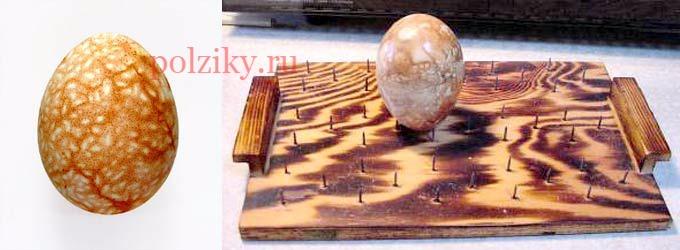 Как красить яйца в луковой шелухе мраморные