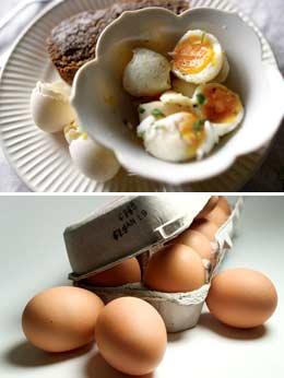 Каждый день вареное яйцо