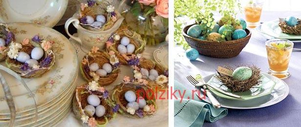 Как украсить перепелиные яйца на Пасху