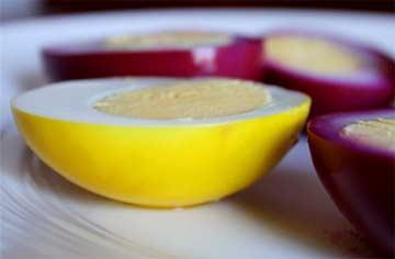 Золотые маринованные перепелиные яйца рецепт