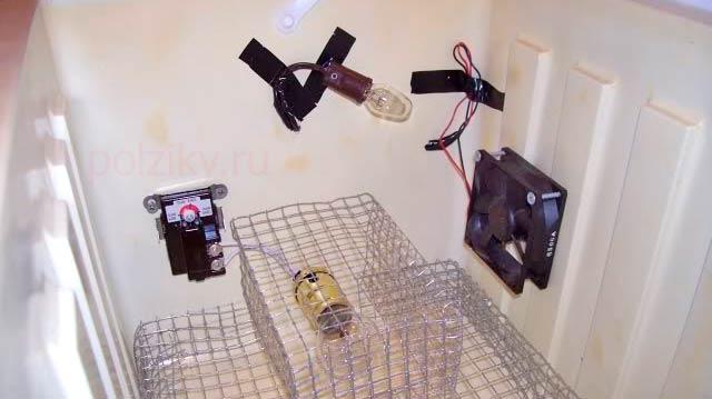 Самостоятельная спайка простого терморегулятора для инкубатора