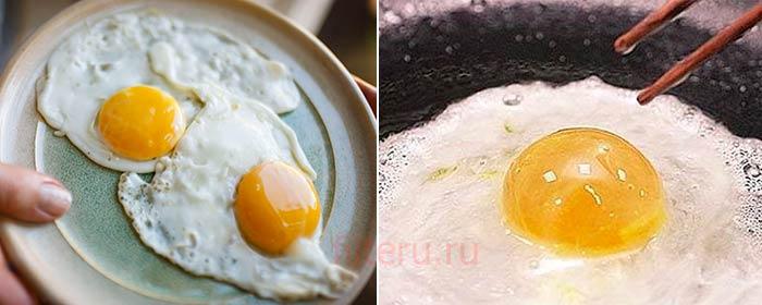 Яичница из искусственного яйца
