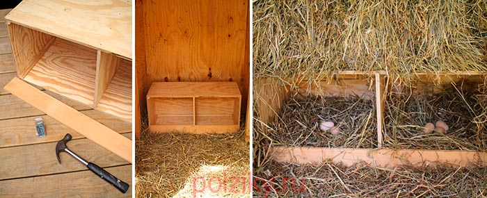 Гнездовой ящик на двух уток